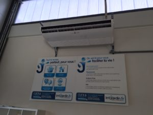 Installation d'une climatisation Atlantic Fujitsu